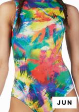 Falda de Baile Nina Estampada y Acampanada Alegra Estampado muestra de color #2. [Estampado]