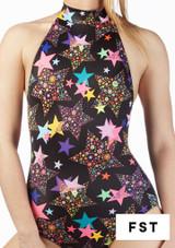 Falda de Baile Nina Estampada y Acampanada Alegra Estampado muestra de color #9. [Estampado]