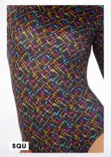 Falda de Baile Nina Estampada y Acampanada Alegra Estampado muestra de color #8. [Estampado]