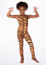 Mono de Baile Nina Estampado Rhona Alegra muestra de color #7.