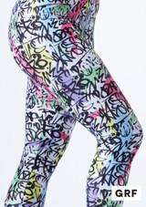 Mono de Baile Nina Estampado Rhona Alegra muestra de color #3. [Estampado]