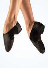 Move Illusion Zapatos Jazz Negro imagen principal. [Negro]