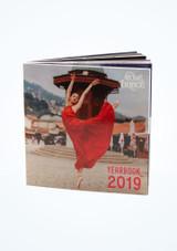 Anuario de Move Dancewear Rojo frontal. [Rojo]