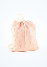 Mochila Ballet Shoe So Danca Rosa. [Rosa]