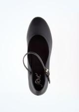 Zapato caracter Pippin 7,5cm negro Move #2. [Negro]