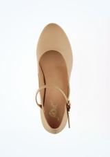 Zapato caracter Dina 4 cm natural Move Marrón Claro #2. [Marrón Claro]