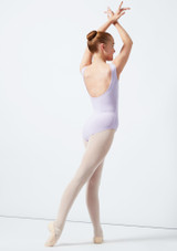 Maillot Ballet Sin Mangas Patty Move Dance Violeta trasera. [Violeta]