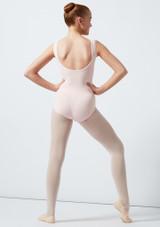 Maillot Ballet Sin Mangas Patty Move Dance Rosa trasera. [Rosa]