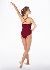 Maillot Ballet Hope Move Dance Rojo trasera. [Rojo]