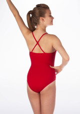 Maillot Ballet Hope Move Dance Rojo trasera #2. [Rojo]