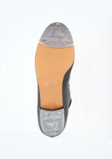 Zapato claque basico con cordonera Alegra Negro suela. [Negro]
