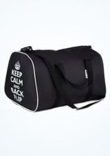 Macuto Keep Calm and Dance Tappers & Pointers Negro. [Negro]