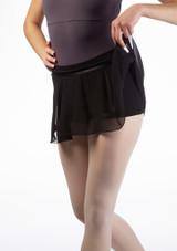 Falda con culotes Amelie Move Negro frontal #2. [Negro]