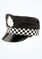 Casco de policia Negro imagen principal. [Negro]