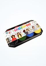 Paleta de pinturas faciales Snazaroo Multicolor frontal.
