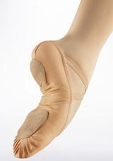 Zapatilla de ballet Pro Move Rosa trasera. [Rosa]
