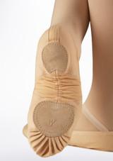 Zapatilla de ballet Pro Move Rosa lateral. [Rosa]