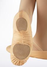 Zapatillas de Ballet Light Pro Move Dance Rosa trasera. [Rosa]