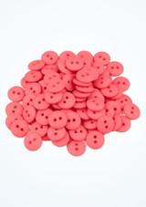 Botones de colores 100 unidades Rosa frontal. [Rosa]
