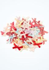 Lazos de raso 100 unidades Multicolor imagen principal. [Multicolor]