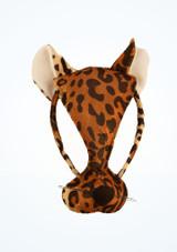 Careta de leopardo Multicolor frontal. [Multicolor]