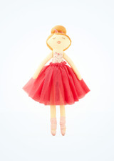 Muneca bailarina blanda Skye Bloch Rosa frontal. [Rosa]