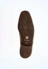 Zapatos de salon con efecto trenzado Werner Kern Hombre Negro suela. [Negro]