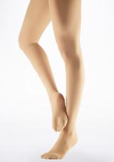 Medias Ballet con Pie Move Dance Bronzeado Claro Marrón imagen principal. [Marrón]