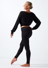 Top para calentamiento Move Dance Alive Negro trasera. [Negro]