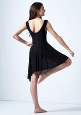 Vestido de baile lirico asimetrico Pandora Move Dance Negro trasera. [Negro]