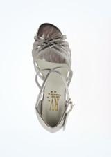 Zapato de baile de salon Bella Roch Valley de 3 cm Plata superior. [Plata]