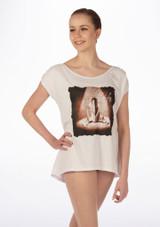 So Danca Camiseta 'My Lifeƒ Blanco. [Blanco]