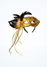 Braided Feather Eyemask Oro. [Oro]