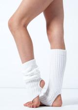 Calentadores cortos de estribo Alegra Blanco  Lado-1 [Blanco ]