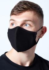 Pack de mascarilla facial negra para hombre Move Dance - Paquete de 2 Negro  Delante-1 [Negro ]
