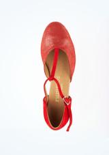 Zapatos de Baile Carol Rummos 1,75cm Rojo #2. [Rojo]