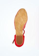 Zapatos de Baile Carol Rummos 1,75cm Rojo #3. [Rojo]