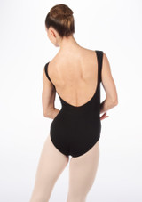 English National Ballet Maillot cuello barco Negro. [Negro]