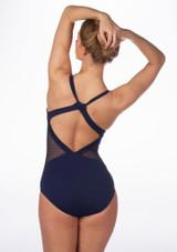 Maillot Ballet Agnella K H Martin Azul trasera. [Azul]