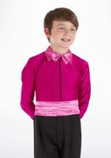 Camisa de Baile Deportiva Nino de Colores Pablo Move Dance Rosa frontal. [Rosa]