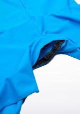 Camisa de Baile Deportiva Nino de Colores Pablo Move Dance Azul trasera. [Azul]