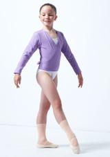 Rebeca de Ballet Nina Kimi Move Dance Violeta frontal #2. [Violeta]