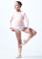 Rebeca de Ballet Nina Kimi Move Dance Rosa frontal. [Rosa]