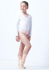 Rebeca de Ballet Nina Kimi Move Dance Blanco frontal. [Blanco]