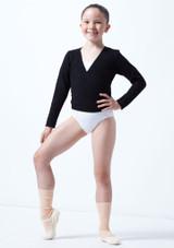 Rebeca de Ballet Nina Kimi Move Dance Negro frontal. [Negro]