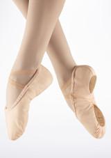 Sansha Pro Zapatilla Ballet Suela Partida Rosa. [Rosa]