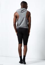 Dincwear Pantalones harem cortos unisex Negro #2. [Negro]