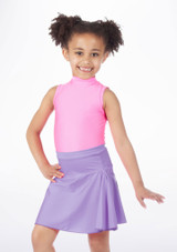 Falda de Baile Brillante Alegra Violeta. [Violeta]