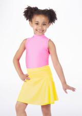 Falda de Baile Brillante Alegra Amarillo.