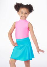 Falda de Baile Brillante Alegra Azul. [Azul]